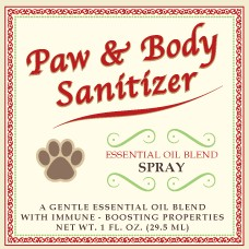 Paw and Body Sanitizer